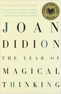 Joan Didion's memoir, The Year of Magical Thinking, is used by Phelan as an example of the deficiency of the narrating-I, the experiencing-I, and the implied author when considering reliability.